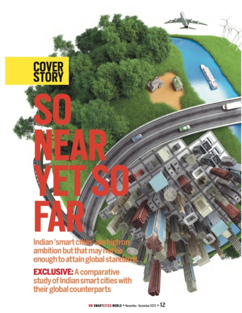 Cover Story on Smart Cities in India
