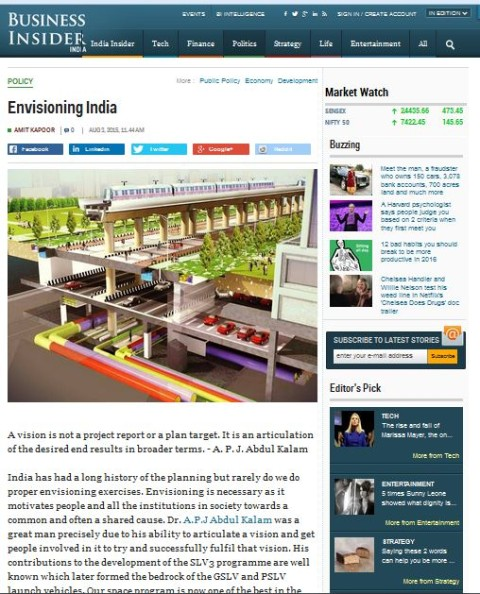 Envisioning India