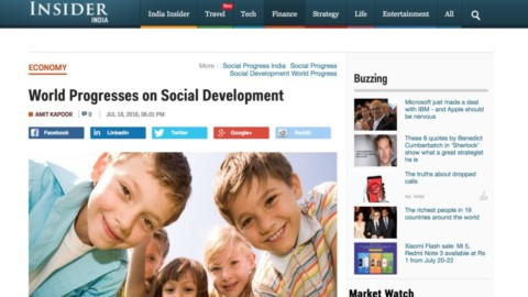 World Progresses on Social Development