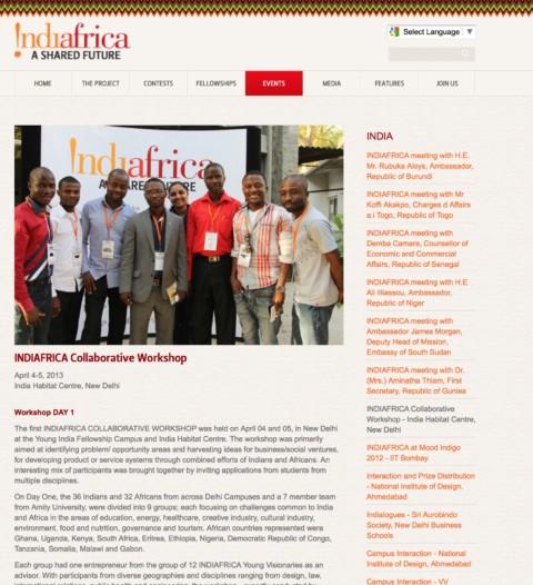 IndiAfrica Collaborative Workshop