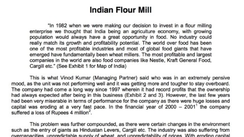 Indian Flour Mill