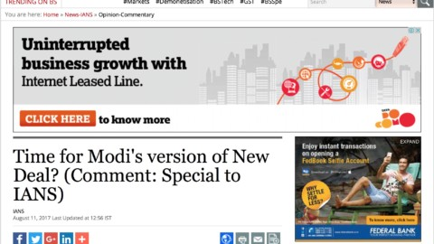 Time for Modi's version of New Deal?