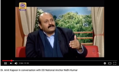 Aaj Savera – Interaction with DD Anchor Nidhi Kumar