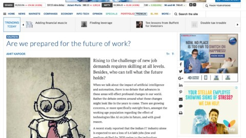 Are we prepared for the future of work?