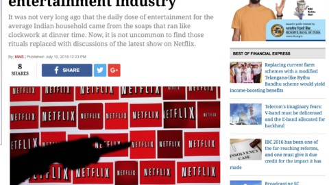 Monopolies in digital space are bad for media and entertainmentindustry