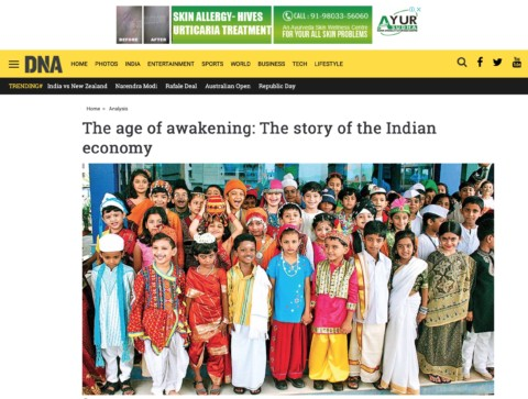 The age of awakening: The story of the Indian economy