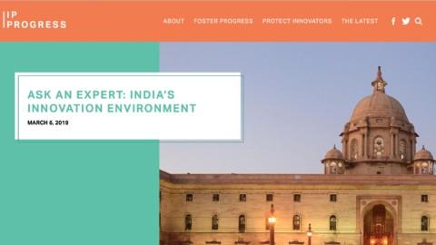 India's Innovation Environment